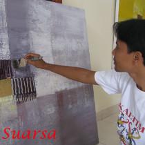 artiste peintre Suarsa Bali