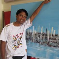 SUARSA peintre abstrait contemporain