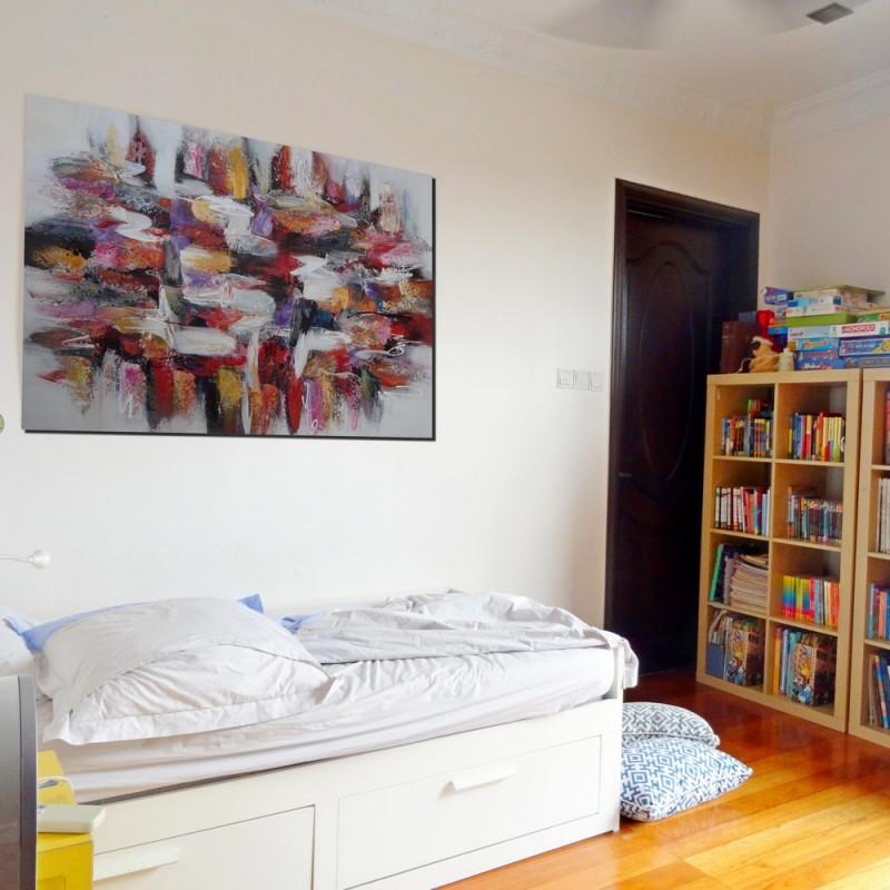 tableau format horizontal 140x90 cm darsana peinture tendance 2016. Black Bedroom Furniture Sets. Home Design Ideas