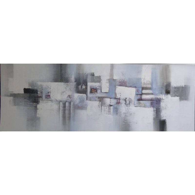 Tableau moderne gris blanc taupe picture pictures to pin - Tableau noir blanc gris ...
