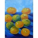 Mini peinture fruits Oranges- 40x30 cm