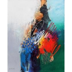 Tableau style design coloré format 100x80 cm