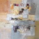 Tableau cadre contemporain décoratif 70x70 cm