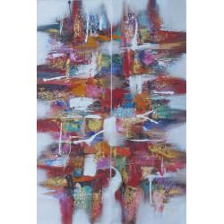 TABLEAU ABSTRAIT-DIPTYQUE- 120x80 -Darsana