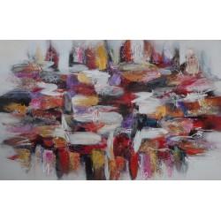 Tableau format horizontal 140x90 cm - Darsana