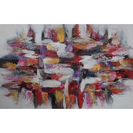 Tableau format horizontal- 140x90 cm - Darsana